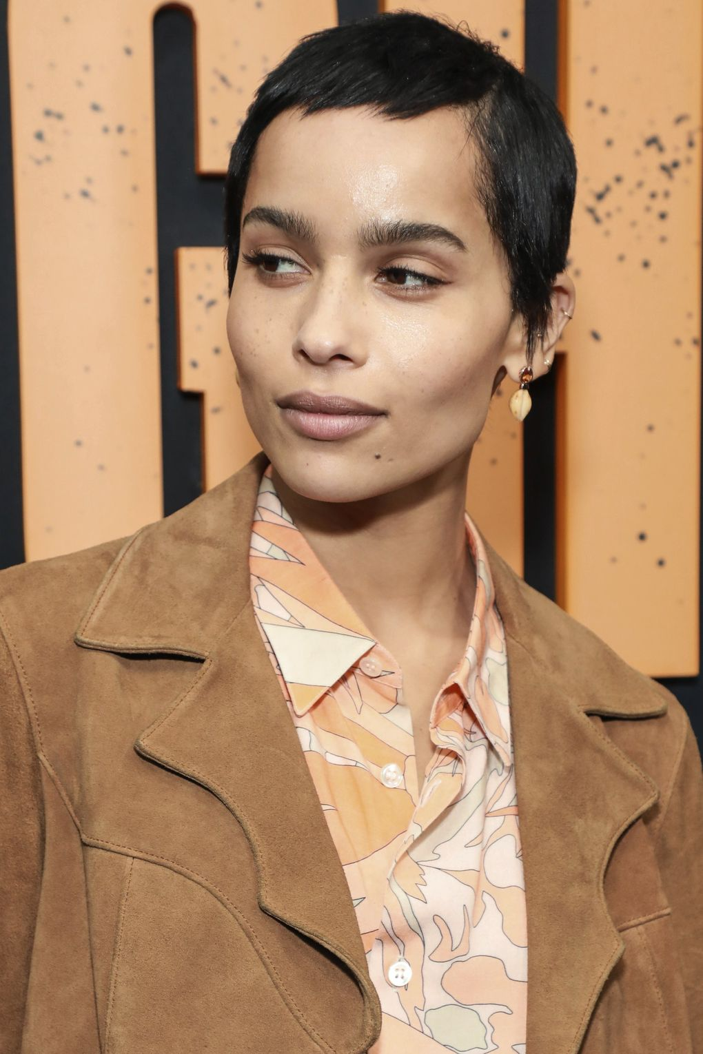 """Zoe Kravitz is slated to star in """"KIMI,"""" about an agoraphobic tech worker who discovers recorded evidence of a violent crime. (Jason Mendez   / Invision / AP)"""