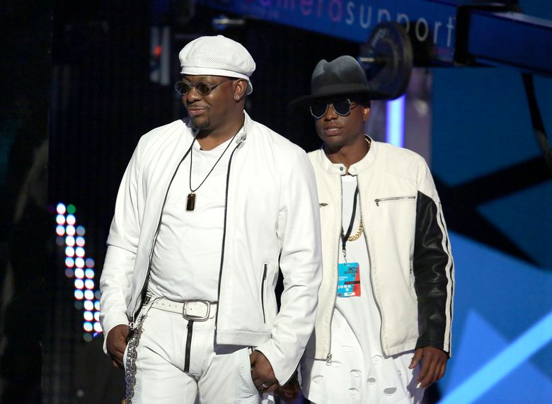 FILE – Bobby Brown, left, and his son Bobby Brown Jr. appear at the BET Awards in Los Angeles on June 26, 2016. An autopsy report says that Brown Jr. died from the combined effects of alcohol, cocaine and the opioid fentanyl. The 28-year-old was found dead in his Los Angeles home in November 2020. (Photo by Matt Sayles/Invision/AP, File)