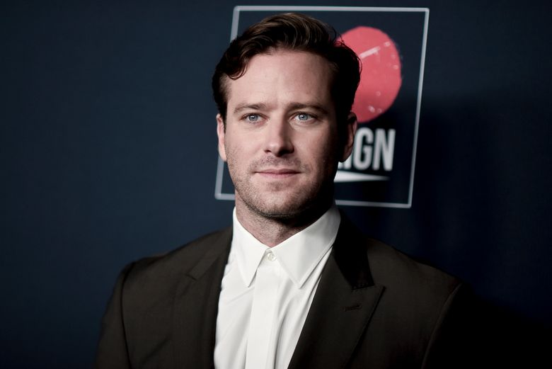 FILE – Armie Hammer attends the 13th Annual Go Gala on Nov. 16, 2019, in Los Angeles. Los Angeles police said Thursday, March 18, 2021, that they are investigating actor Armie Hammer for sexual assault. His attorney denies the allegation. A police spokesman says Hammer is the main suspect in an incident reported on Feb. 3. (Photo by Richard Shotwell/Invision/AP, File)