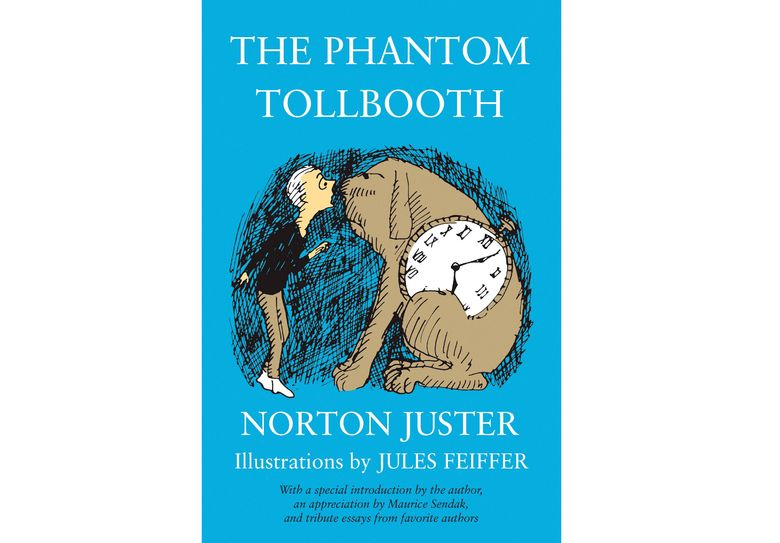 """This cover image released by Random House Children's Books shows """"The Phantom Tollbooth"""" by Norton Juster.  The celebrated architect and children's author who fashioned a special world of his own in """"The Phantom Tollbooth"""" died at age 91. His death was confirmed Tuesday by a spokesperson for Random House Children's Books. (Random House Children's Books via AP)"""
