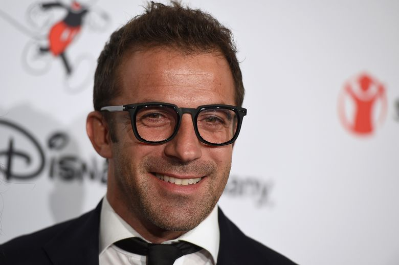FILE – In this Oct. 2, 2019, file photo, Alessandro Del Piero arrives at Save the Children's Centennial Celebration: Once in a Lifetime event in Beverly Hills, Calif. The former Italy and Juventus star who retired after the 2014 season will debut on ESPNFC this Saturday during postgame coverage of the Serie A match between Juventus and Lazio. (Photo by Jordan Strauss/Invision/AP, File)