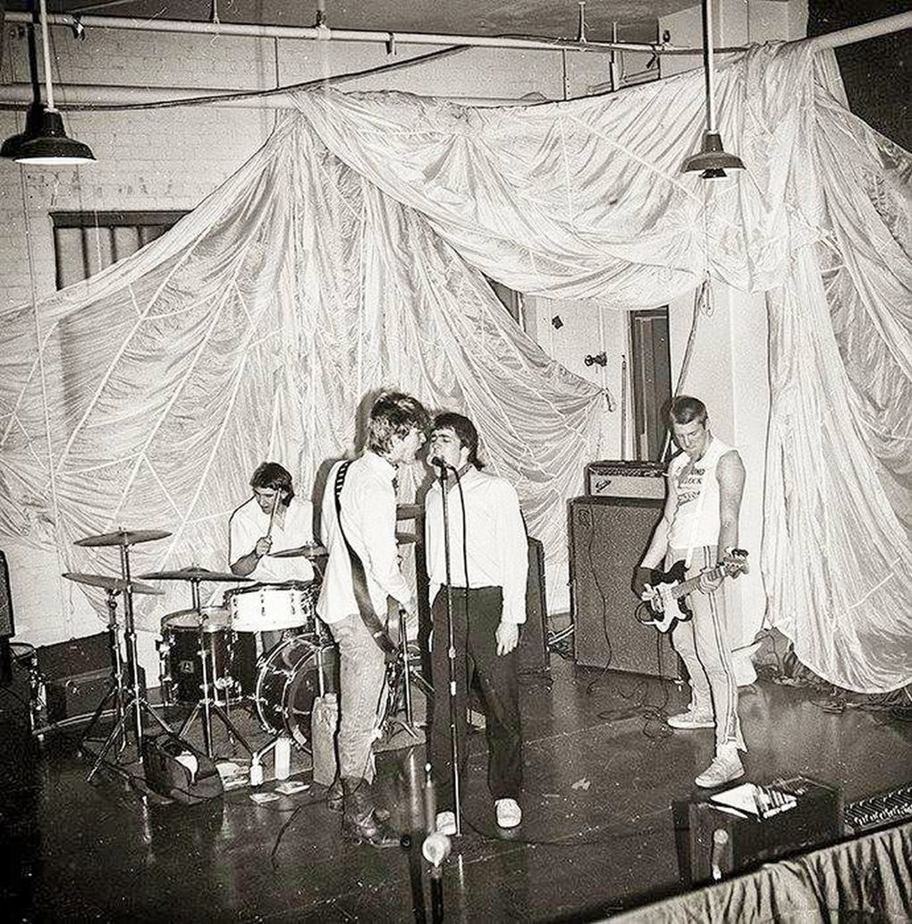 Led by a pre-Guns N' Roses Duff McKagan, The Living tore up the Seattle punk scene for just a few short months in 1982. (Marty Perez)