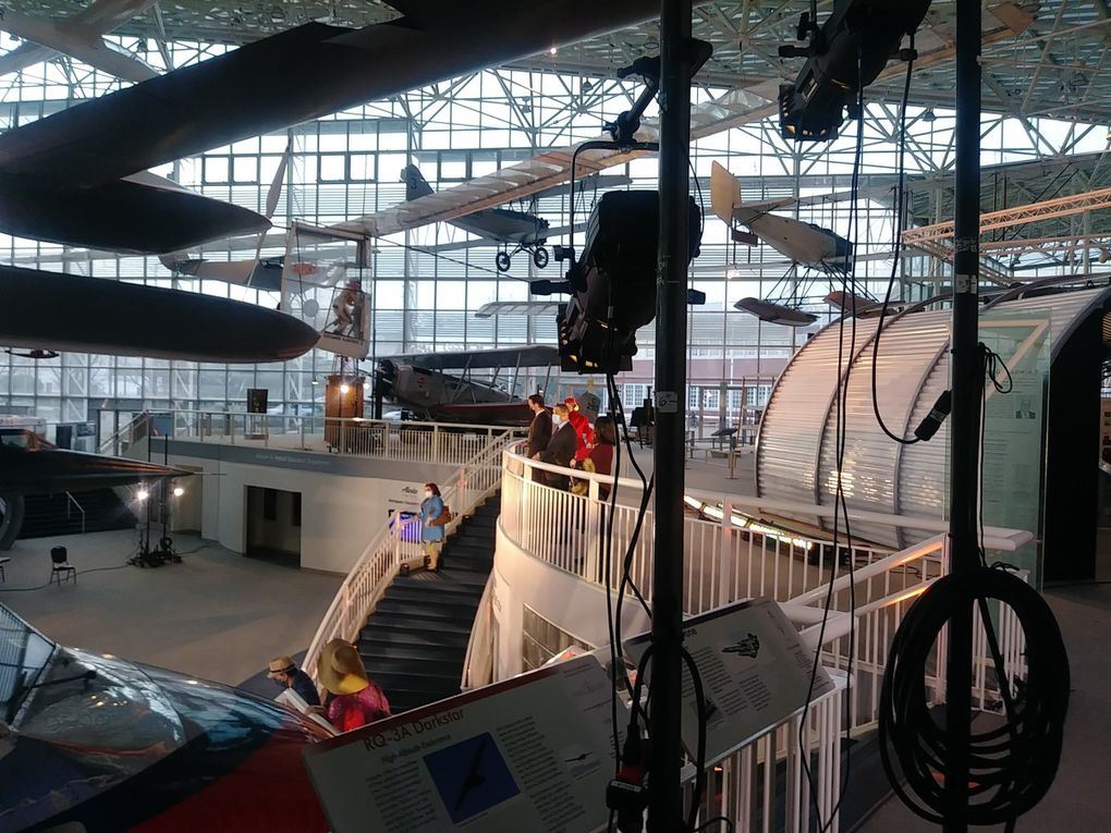 Seattle Opera's newest production was filmed at the Museum of Flight. (Doug Provost)