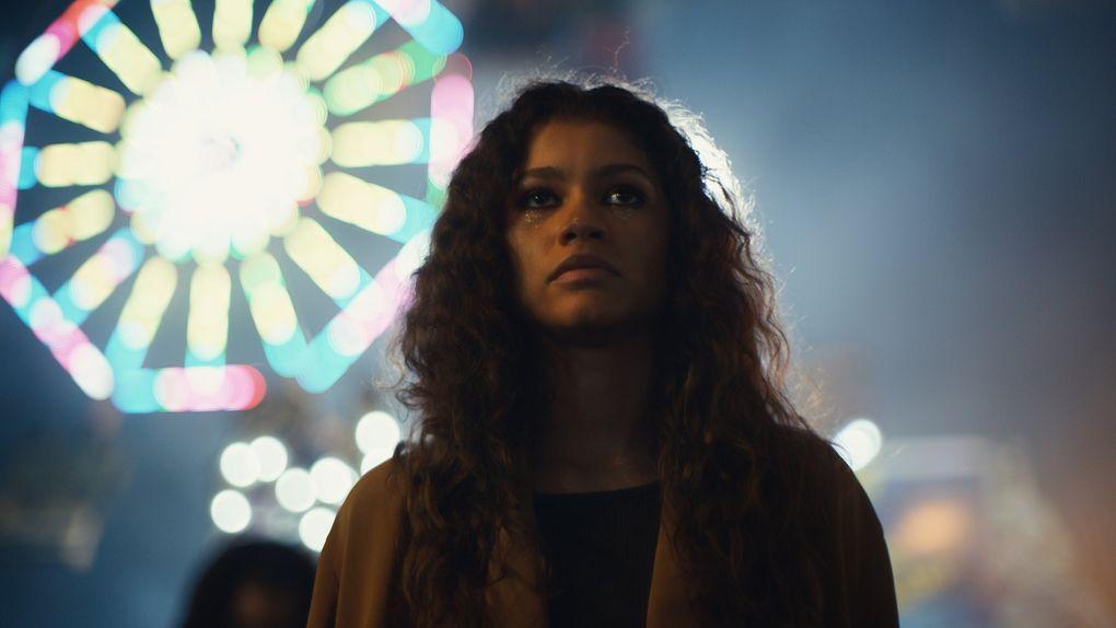 "Zendaya in ""Euphoria.""  (HBO)"