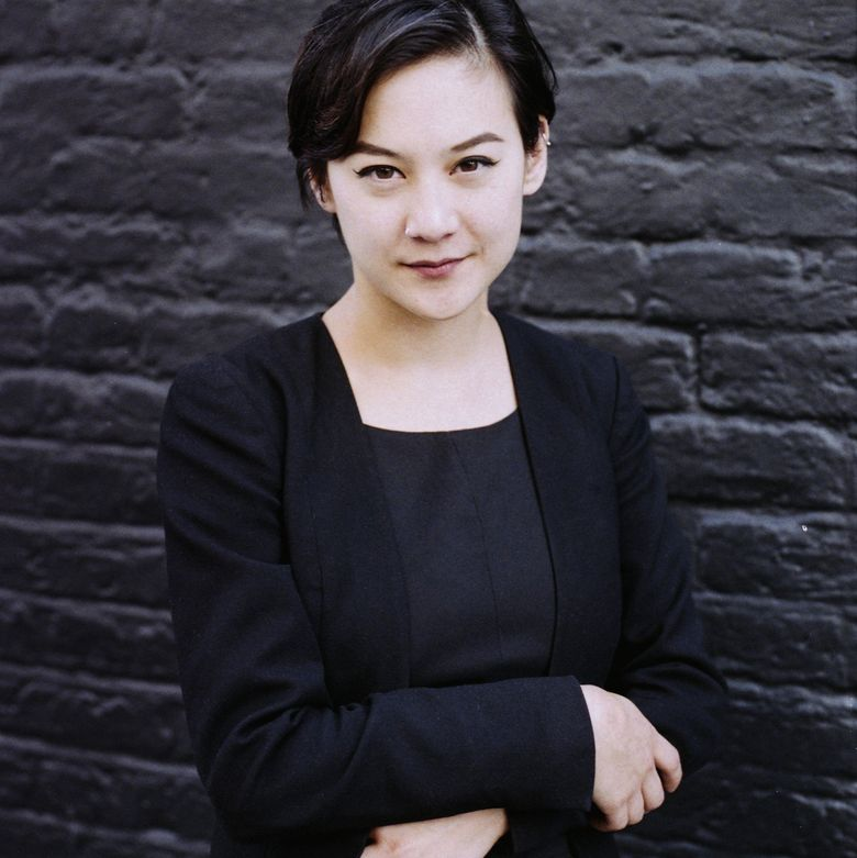 """Michelle Zauner, author of the new memoir, """"Crying in H Mart,"""" moved with her parents to Eugene, Oregon, as an infant. (Barbora Mrazkova)"""