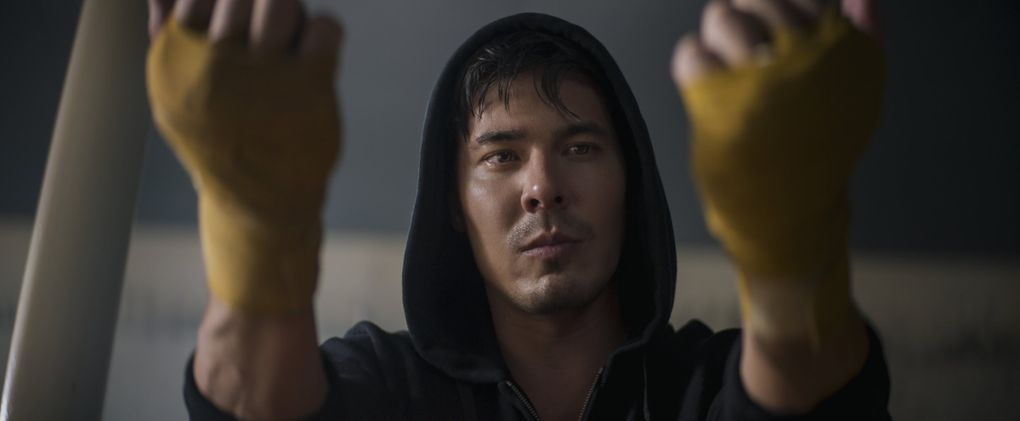 """Lewis Tan plays a fighter in """"Mortal Kombat."""" (Courtesy of Warner Bros. Pictures)"""