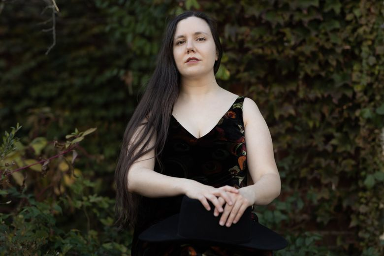 """Elissa Washuta, author of """"White Magic,"""" has been hailed as one of her generation's greatest essayists. She will discuss her latest book in a Town Hall virtual event May 4.  (Marcus Jackson)"""