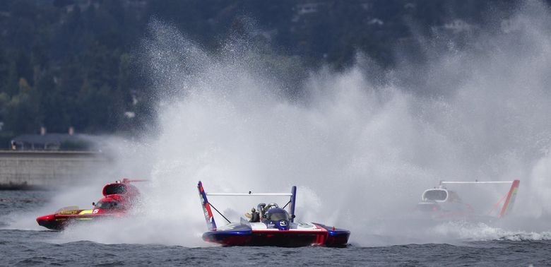 For the second consecutive year, there'll be no racing on Lake Washington for Seafair.  (Lindsey Wasson / The Seattle Times, 2016)