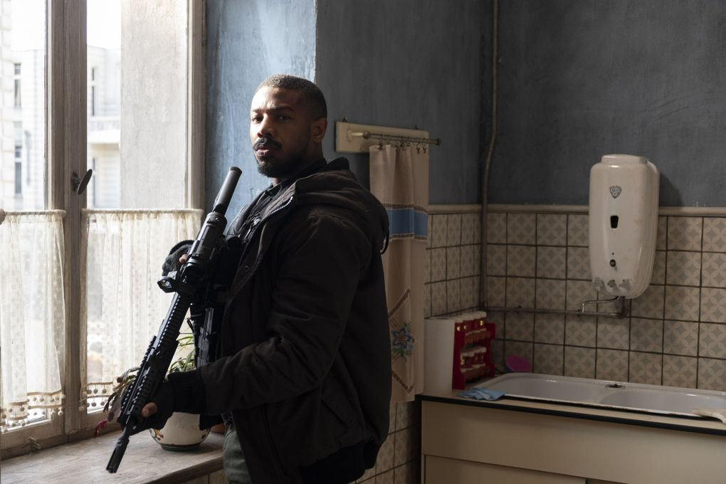 """Michael B. Jordan plays an elite Navy SEAL who goes rogue in """"Tom Clancy's Without Remorse"""" on Amazon. (Nadja Klier / Paramount Pictures)"""