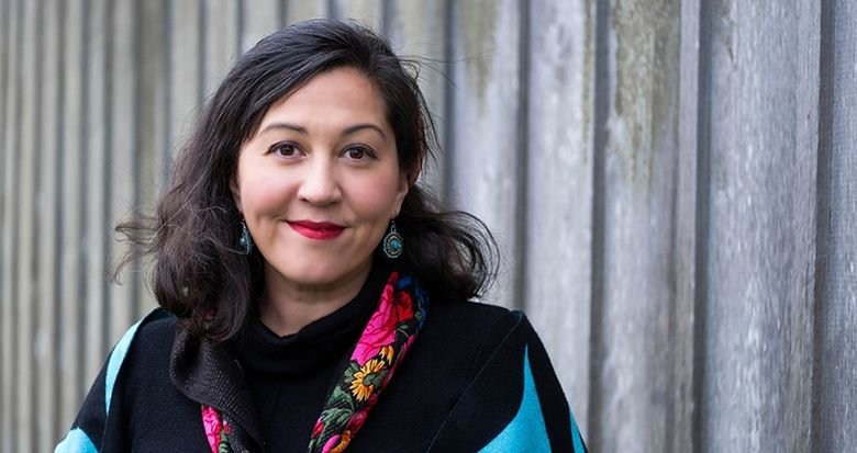 """Rena Priest, a Bellingham resident and member of the Lhaq'temish (Lummi) Nation, is the new Washington state poet laureate. Her debut poetry collection """"Patriarchy Blues"""" won an American Book Award. (Courtesy of Rena Priest)"""