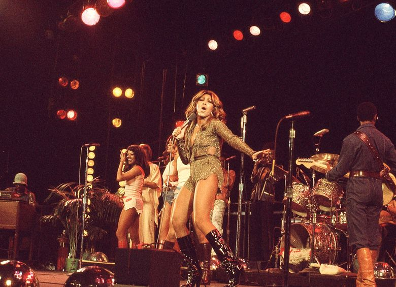 """The documentary """"Tina"""" shows Tina Turner and the Ikettes performing in January 1976. (Courtesy of Rhonda Graam / HBO)"""