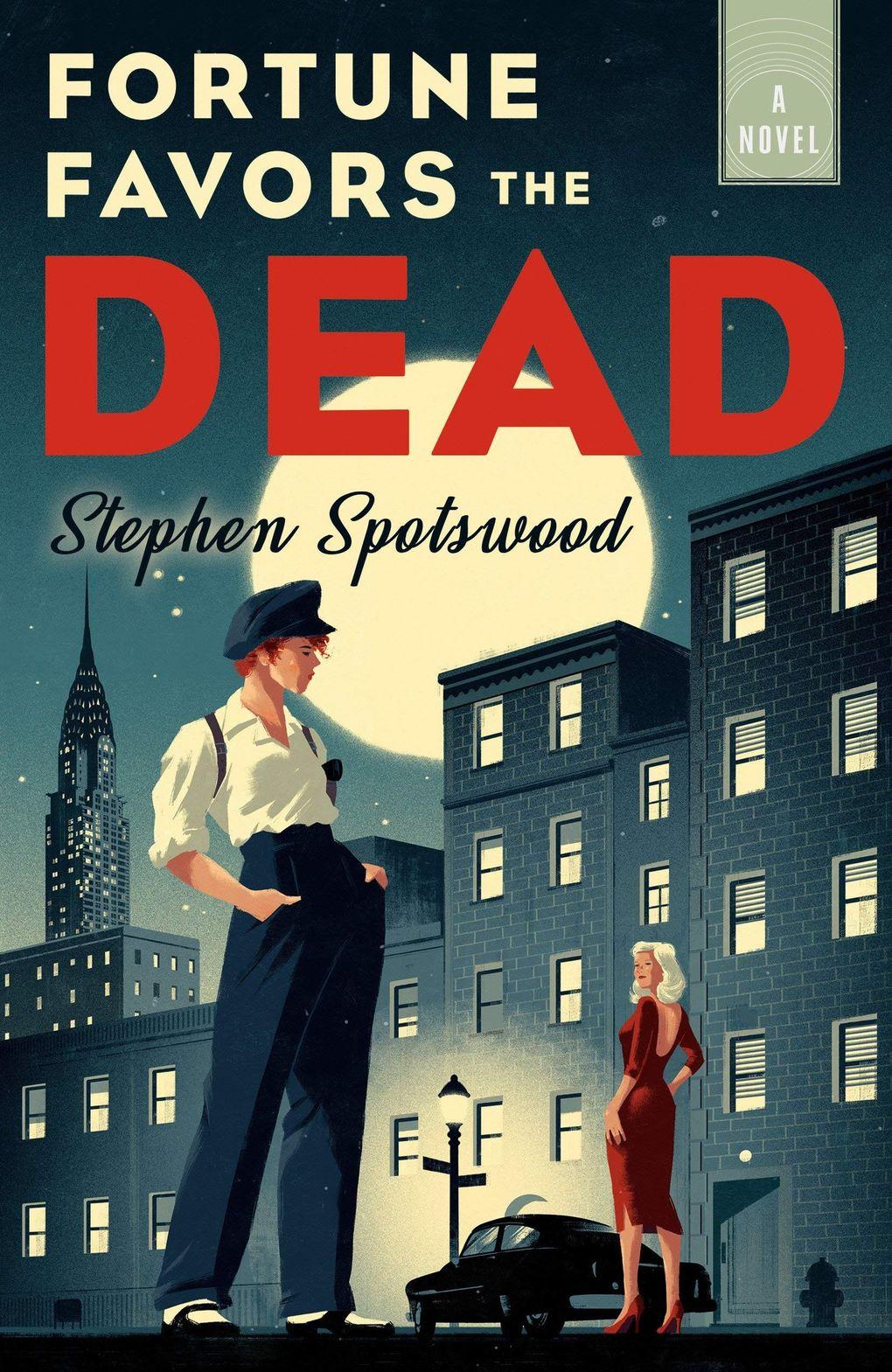 """""""Fortune Favors the Dead"""" by Stephen Spotswood (Penguin Random House)"""