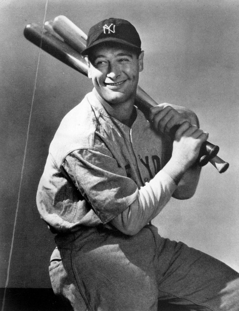 Let's see … is that more than $2.1 million Lou Gehrig's holding? (Seattle Times file)