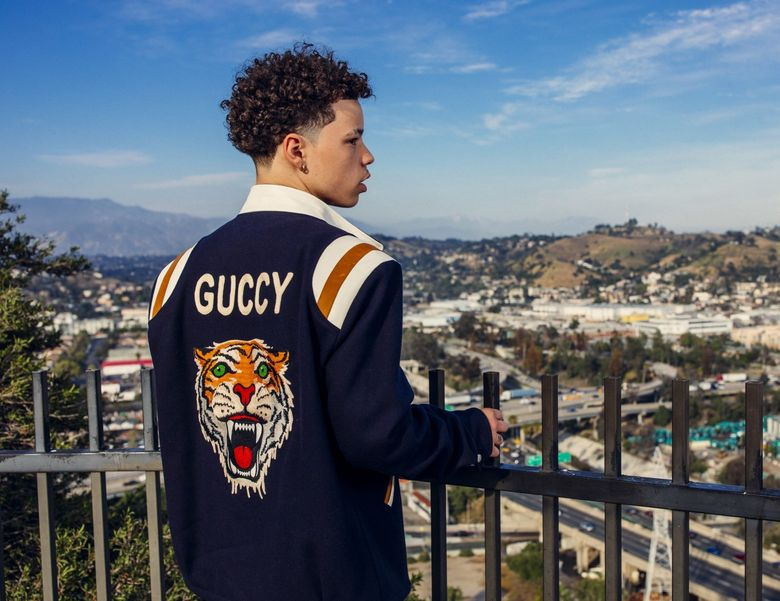 A warrant was issued for Lil Mosey's arrest after the Seattle rap star failed to appear for a court hearing in Lewis County on Wednesday. (Jeremy Deputat)