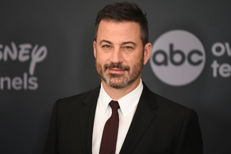 FILE – This May 14, 2019 file photo shows Jimmy Kimmel at the Walt Disney Television 2019 upfront in New York. Kimmel and former NASA engineer and YouTube Creator Mark Rober will host a three-hour-long livestream fundraiser for autism. (Photo by Evan Agostini/Invision/AP, File)