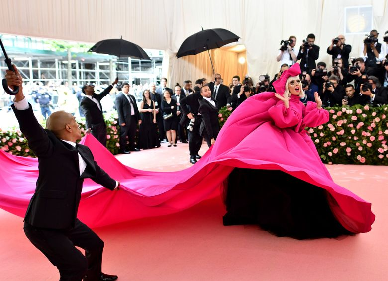 FILE – Lady Gaga attends The Metropolitan Museum of Art's Costume Institute benefit gala on May 6, 2019, in New York. The Metropolitan Museum of Art announced Monday that the annual high-wattage celebration of both fashion and celebrity — held virtually in 2020 because of the pandemic — will return in person, first in September, then again on its usual date on the first Monday in May. (Photo by Charles Sykes/Invision/AP, File)