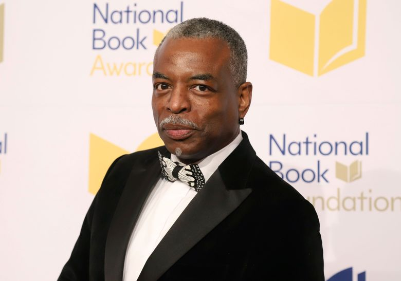 """FILE – LeVar Burton attends the 70th National Book Awards ceremony in New York on Nov. 20, 2019. Burton will serve as guest host on the game show """"Jeopardy!"""" (Photo by Greg Allen/Invision/AP, File)"""