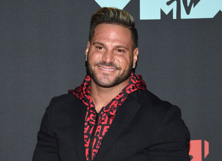 """FILE – This Aug. 26, 2019 file photo shows """"Jersey Shore"""" cast member Ronnie Ortiz-Magro at the MTV Video Music Awards in Newark, N.J. Ortiz-Magro was arrested Thursday, April 22, 2021 for investigation of felony domestic violence, police said Ortiz-Magro, was arrested in the coastal Playa Del Rey section of Los Angeles. Police would give no details on the victim, but said Ortiz-Magro was arrested on suspicion of violating the California law covering violence against intimate partners. (Photo by Evan Agostini/Invision/AP, File)"""