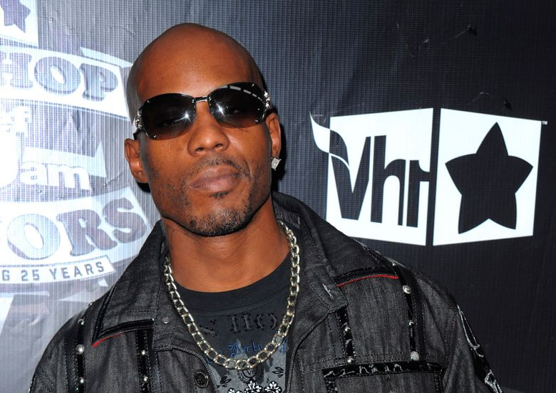 """FILE – In this Sept. 23, 2009, file photo, DMX arrives at the 2009 VH1 Hip Hop Honors at the Brooklyn Academy of Music, in New York. DMX's longtime New York-based lawyer, Murray Richman, said the rapper was on life support Saturday, April 3, 2021 at White Plains Hospital. """"He had a heart attack. He's quite ill,"""" Richman said. (AP Photo/Peter Kramer, File)"""
