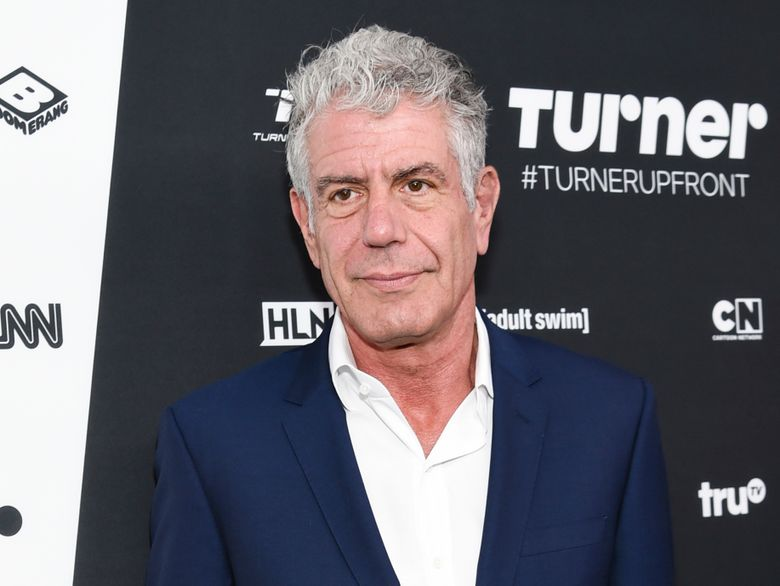 """FILE – Anthony Bourdain attends the Turner Network 2016 Upfronts in New York on May 18, 2016. A documentary about Bourdain, """"Roadrunner: A Film About Anthony Bourdain,"""" will have its world premiere at the Tribeca Film Festival on Friday, June 11, 2021.  (Photo by Evan Agostini/Invision/AP, File)"""