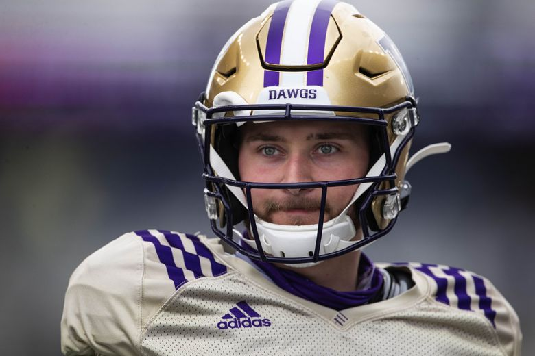 Last year's starting quarterback Dylan Morris is competing for the job again this year.   (Dean Rutz / The Seattle Times)