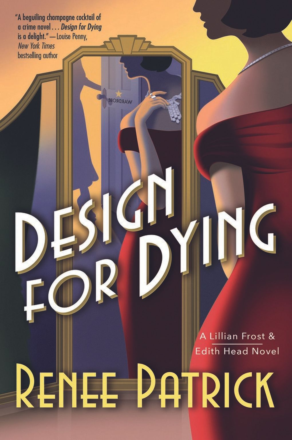 """""""Design for Dying"""" by Renee Patrick.  (Macmillan Publishers)"""