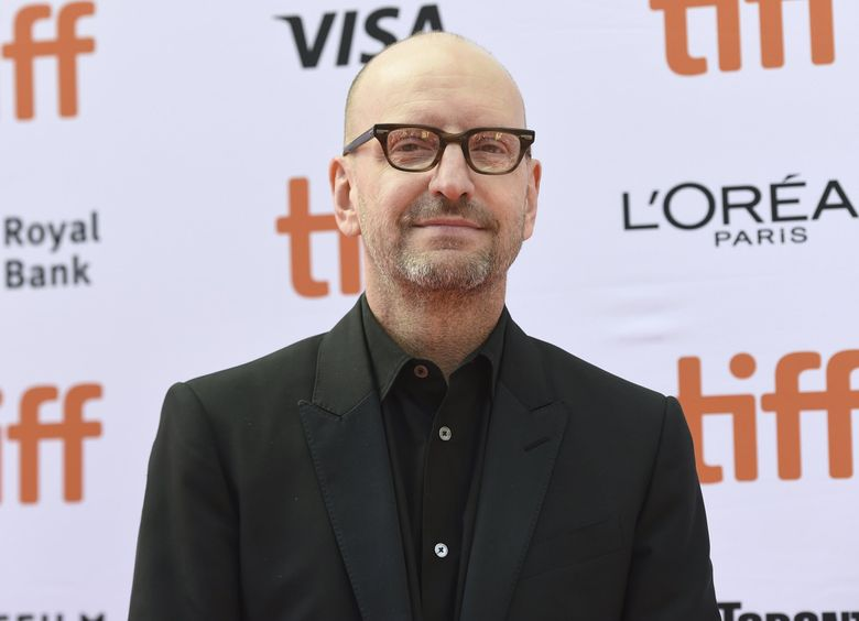 """Director Steven Soderbergh, shown here attending a premiere for """"The Laundromat"""" at the Toronto International Film Festival in 2019, is directing a movie, """"Kimi,"""" that's expected to start filming in Seattle this week. (Chris Pizzello / The Associated Press)"""