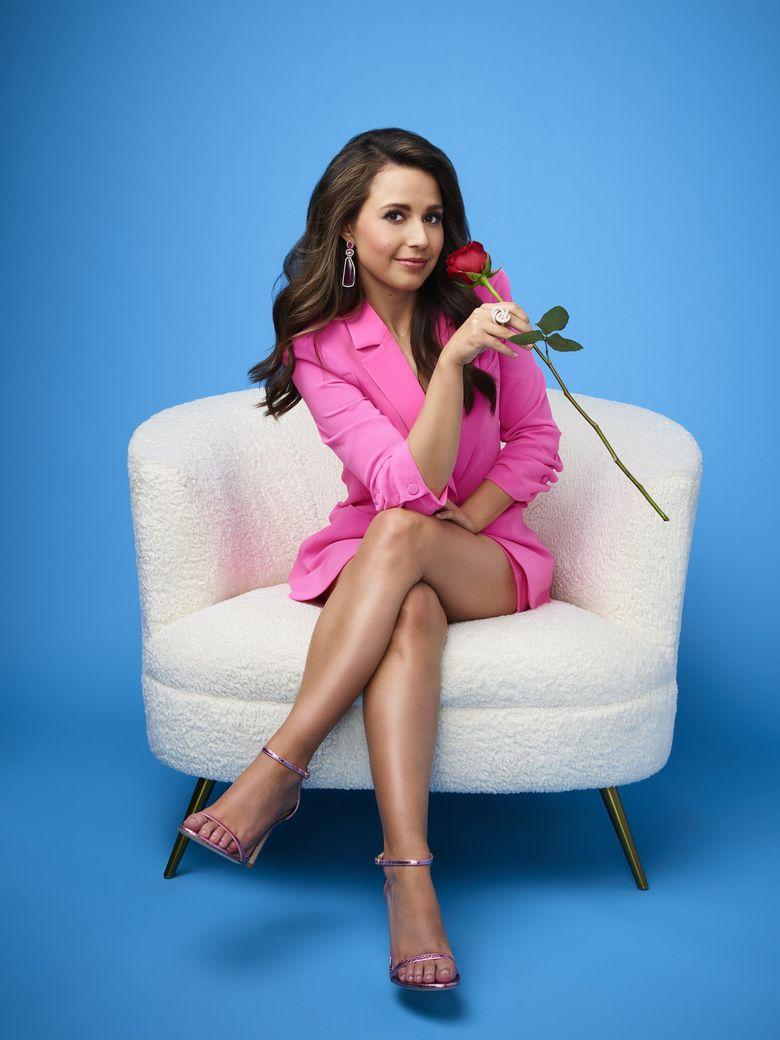"""ABC's """"The Bachelorette,"""" season 17, stars Renton's Katie Thurston. (Andrew Eccles / ABC)"""