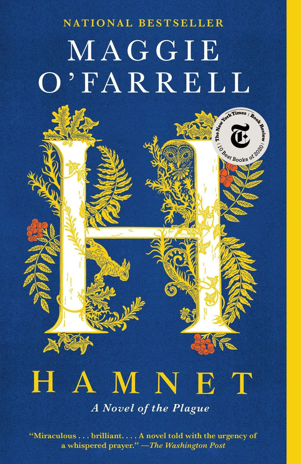"""""""Hamnet"""" by Maggie O'Farrell (Vintage)"""