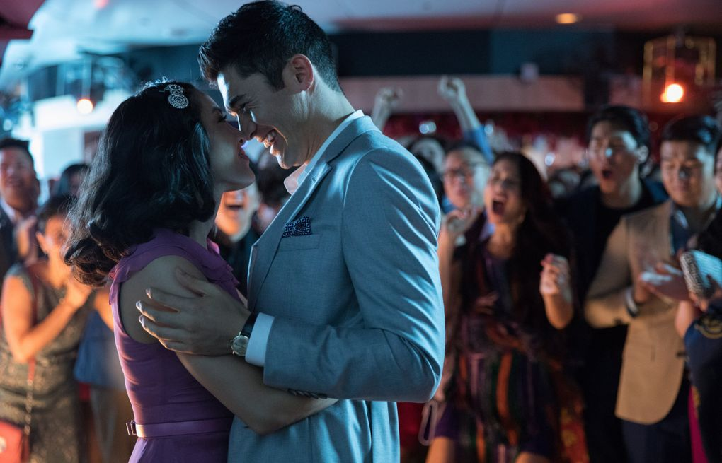 """Constance Wu and Henry Golding in the romantic comedy """"Crazy Rich Asians."""" (Sanja Bucko / Warner Bros. Entertainment Inc.)"""
