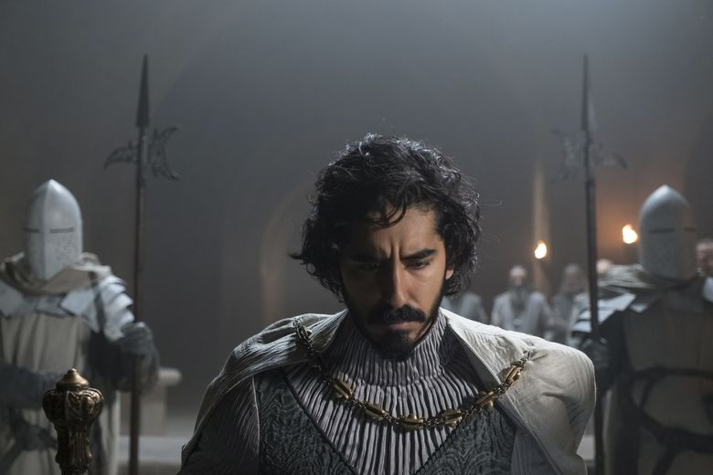 """Dev Patel plays Sir Gawain, King Arthur's nephew, who goes on a quest to confront """"The Green Knight."""" (Eric Zachanowich / A24 Films)"""