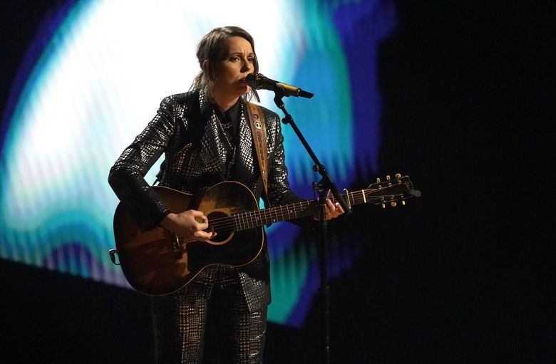 Brandi Carlile, here performing during the 63rd Grammy Awards in March, brings her Echoes Through the Canyon show back to the Gorge Aug. 14. (Chris Pizzello / Invision / The Associated Press)