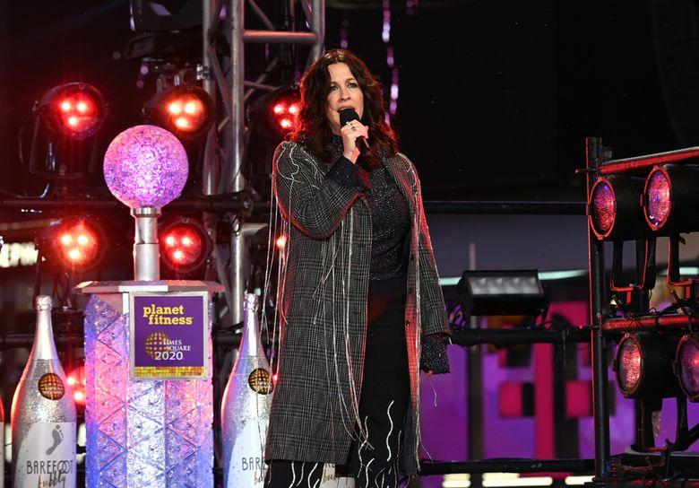 Alanis Morissette, shown here at the Times Square New Year's Eve 2020 Celebration in New York City, is scheduled to perform at White River Amphitheatre Sept. 27. Her show is one of several at the venue for which $20 tickets will be available. (Noam Galai / TNS)