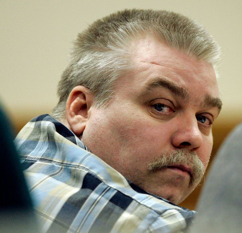 """FILE – In this March 13, 2007, file photo, Steven Avery listens to testimony in the courtroom at the Calumet County Courthouse in Chilton, Wis. The Wisconsin Court of Appeal on Wednesday, July 28, 2021, rejected a request by """"Making a Murderer"""" subject Steven Avery for a new trial. (AP Photo/Morry Gash, Pool, File)"""