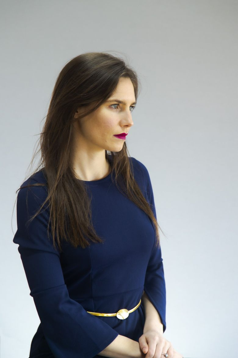 """""""Once you become a figure in a story, your story doesn't belong to you anymore,"""" says Amanda Knox. """"And that is the sort of shocking experience that I've had that I noticed other people having all the time… and so it seems like the only thing to do is to try to give people their stories back."""" (Courtesy of Amanda Knox)"""