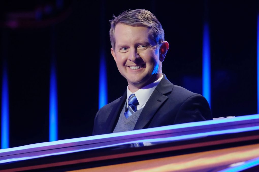 """Seattle's Ken Jennings was the first of 16 guests hosts of """"Jeopardy!"""" (Ron Batzdorff / ABC)"""