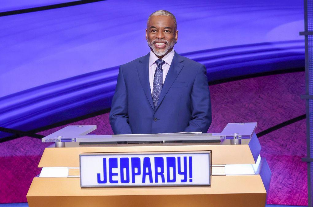 "LeVar Burton guest hosted ""Jeopardy!"" July 26-30. (Carol Kaelson / Jeopardy Productions, Inc. via The Associated Press)"