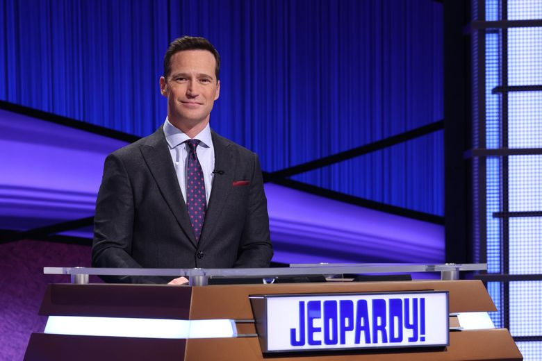 """New """"Jeopardy!"""" host Mike Richards resigned amid controversy on Friday, after one day on the job. (Courtesy of Jeopardy Productions)"""
