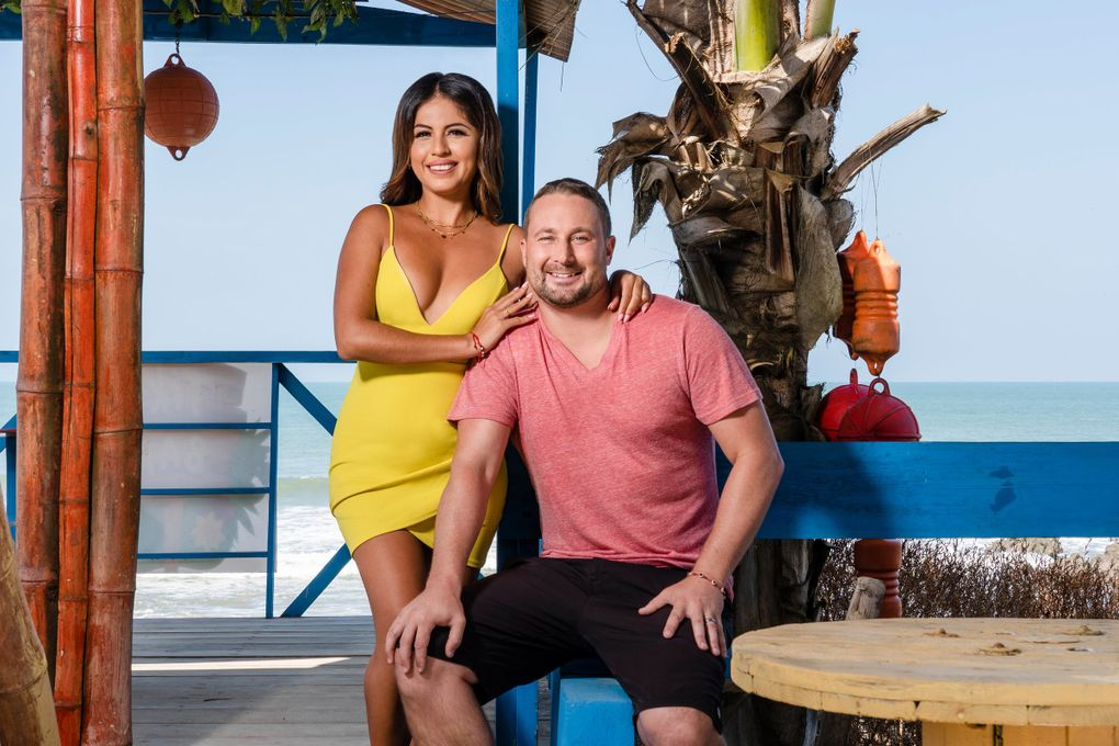 """Evelin Villegas and Corey Rathgeber, of Mill A, Skamania County, are on """"90 Day Fiancé: The Other Way."""" (Courtesy of TLC)"""