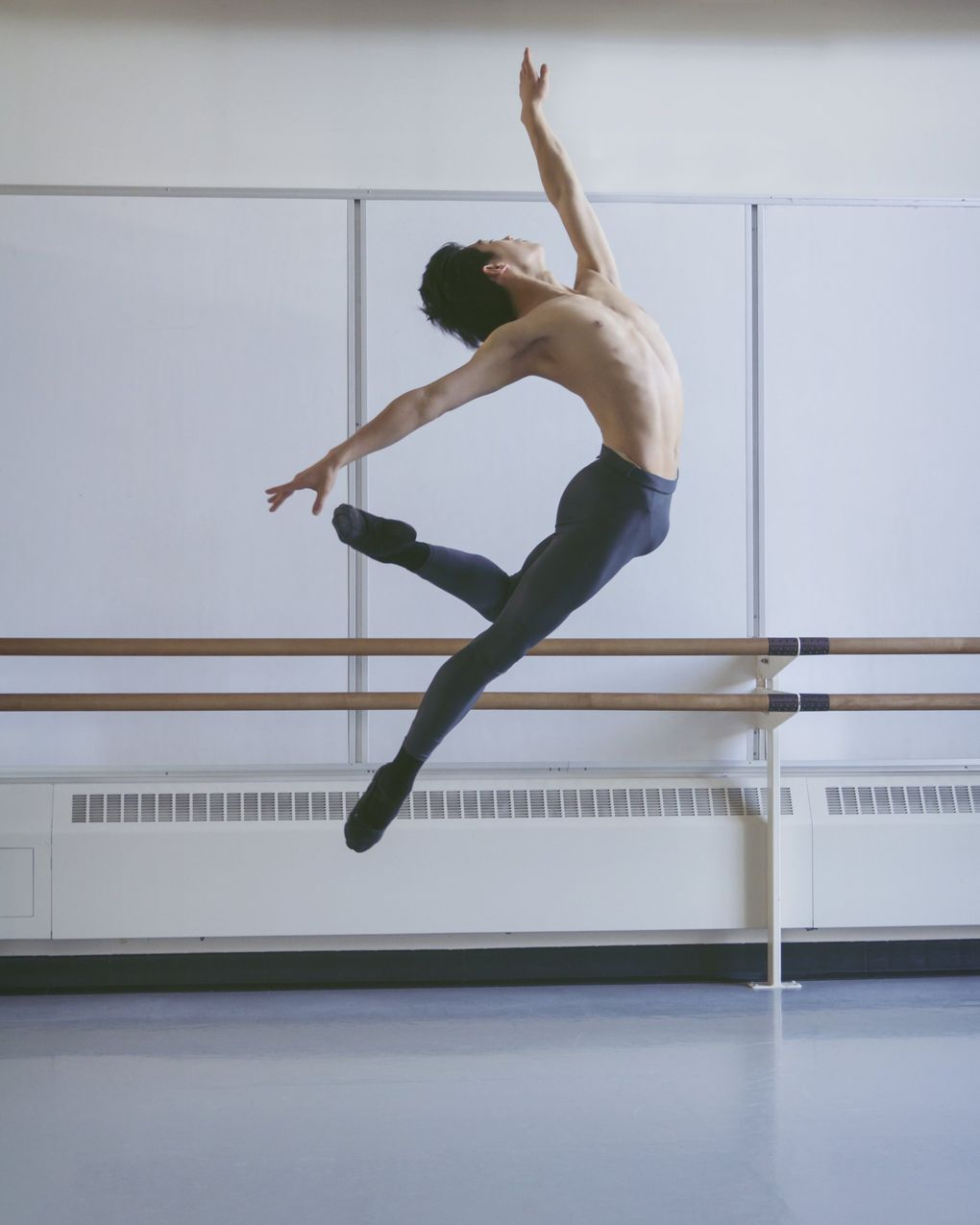 """Pacific Northwest Ballet corps de ballet dancer Kuu Sakuragi says dancing allows him to let down his guard. He cites a favorite quote from dancer Mikhail Baryshnikov: """"Dance for me for one minute, and I'll tell you who you are."""" (Lindsay Thomas, 2016)"""