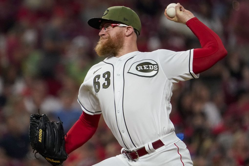 The Mariners claimed Sean Doolittle, who was waived by Cincinnati. (Jeff Dean / The Associated Press)