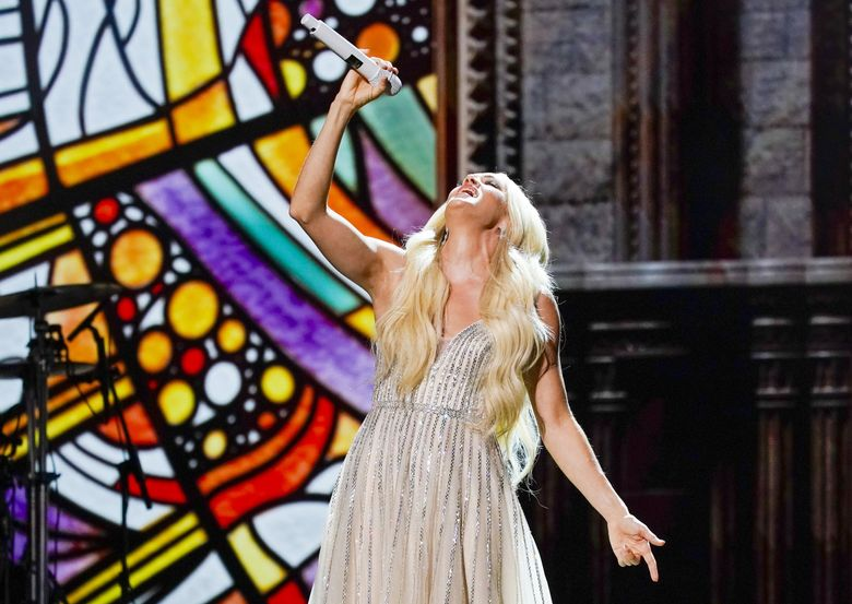 Carrie Underwood is set to play the Washington State Fair Sept. 4. (Mark Humphrey / The Associated Press)