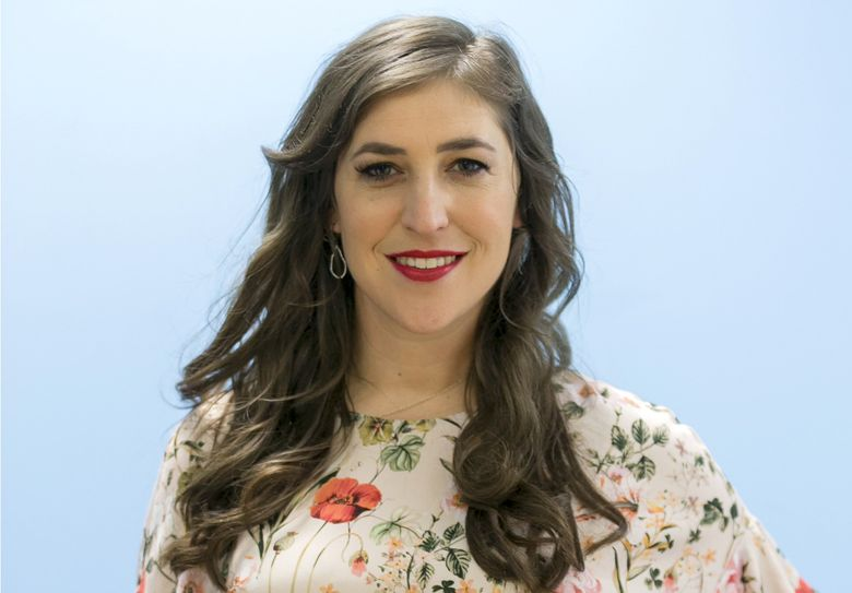 """""""Jeopardy!"""" is back to guest hosts after the resignation of new host Mike Richards. Actor Mayim Bialik, named earlier this month as host of """"Jeopardy!"""" primetime specials and spinoffs, will return as the first, taking the podium for three weeks of episodes. (Damian Dovarganes / The Associated Press)"""