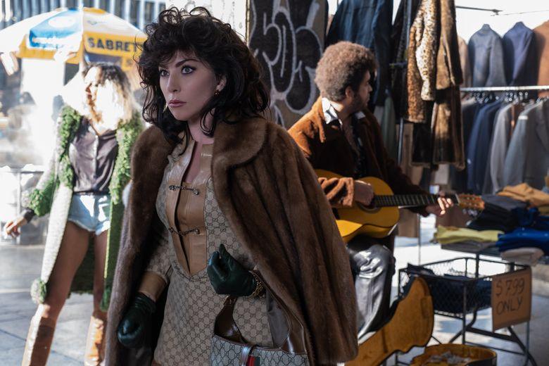 "Lady Gaga stars as Patrizia Reggiani in Ridley Scott's ""House of Gucci."" (Fabio Lovino)"