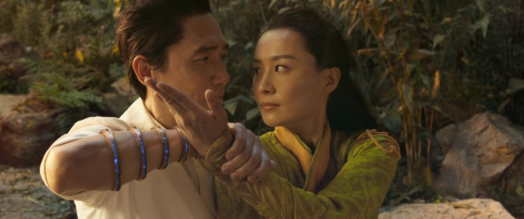 """Tony Leung and Fala Chen in """"Shang-Chi and the Legend of the Ten Rings."""" (Marvel Studios)"""