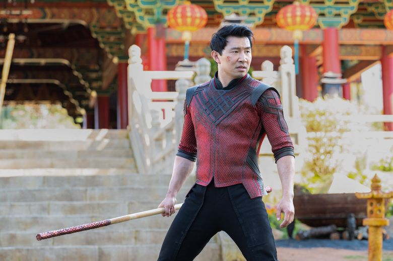 """Simu Liu portrays the title character in """"Shang-Chi and the Legend of the Ten Rings."""" (Marvel Studios)"""