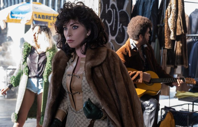 G_00924_RC Lady Gaga plays the role of Patrizia Reggiani in Ridley Scott's HOUSE OF GUCCI A Metro Goldwyn Mayer Pictures film Photo credit: Fabio Lovino © 2021 Metro-Goldwyn-Mayer Pictures Inc. All rights reserved.