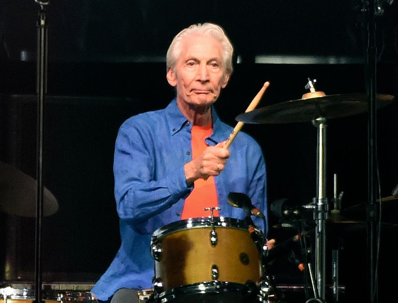 FILE – Rolling Stones drummer Charlie Watts performs at the Rose Bowl, Thursday, Aug. 22, 2019, in Pasadena, Calif. Watts died in London on Tuesday, Aug. 24, 2021 at age 80. (AP Photo/Chris Pizzello, File)