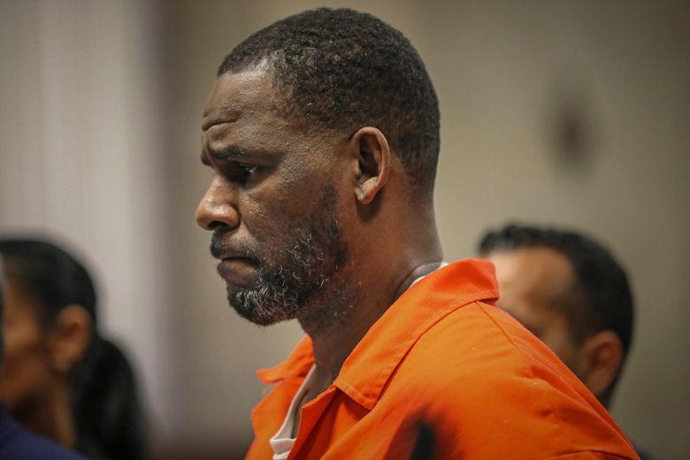 FILE – In this Sept. 17, 2019, file photo, R. Kelly appears during a hearing at the Leighton Criminal Courthouse in Chicago. The R&B star gained weight and lost money while he awaits a sex-trafficking trial that starts in earnest next week, his lawyers said Tuesday, Aug. 3, 2021, at a court hearing. The revelations came as U.S. District Judge Ann M. Donnelly in New York made a series of rulings to narrow down what evidence can be shown to jurors.  (Antonio Perez/Chicago Tribune via AP, Pool, File)