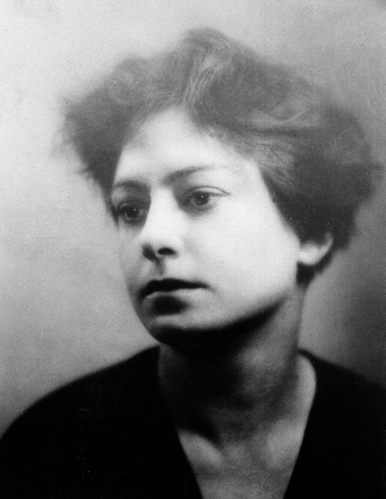 FILE – Author and poet Dorothy Parker is shown in an undated photo. Writer, humorist and civil rights supporter Dorothy Parker died in 1967 but it wasn't until 2020 that her ashes found a final resting place. The New York Post reports that a memorial ceremony, held on Monday, Aug. 23, 2021, at the Woodlawn Cemetery in the Bronx, New York, unveiled a headstone at her family's plot where her ashes are buried. (AP Photo, File)
